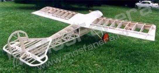 Модель из авиационной фанеры
