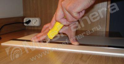 Обработка мебельной фанеры