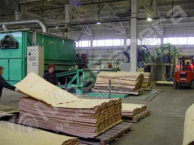 Производство прессованной фанеры